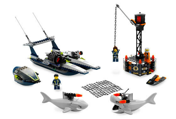 LEGO 8633 - AGENTS - Speedboat Rescue - 2008 - NO BOX