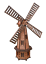Wooden-Garden-Windmill-Large-85-cm-235-cm-Wood-Windmills-Garden-Ornaments thumbnail 26
