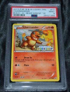 charmander 17 113 build a bear workshop promo set pokemon cards psa