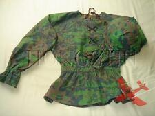 German WW2 Repro Waffen M42 Palm Camo Reversible Field Smock + Helmet Cover, L