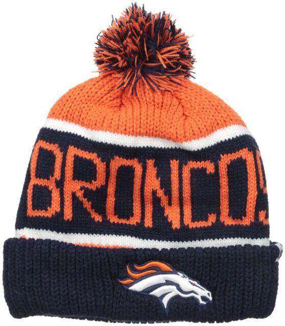 Denver Broncos 47 BRAND NFL Calgary Cuffed Knit Hat  9b79f7923a29