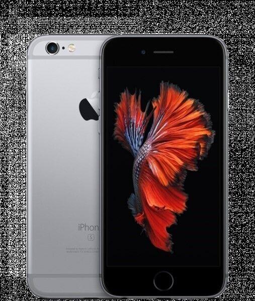 iPhone 6S, GB 128, sort
