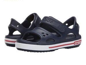Crocs Kids Boys Crocband II Sandal Toddler//Little Kid