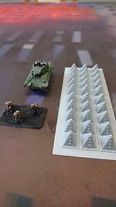 Inquiet * Paysage * 15 Mm Scale Tank Pièges-flames Of War Etc.-afficher Le Titre D'origine