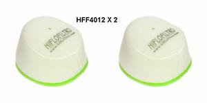 YAMAHA-YZ125-YZ250-HIFLOFILTRO-AIR-FILTER-FITS-YEARS-1997-TO-2017-HFF4012-X-2