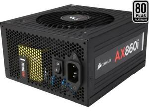 Corsair Certified AXi Series AX860i 860W SLI Ready CrossFire Ready 80 Plus Plati
