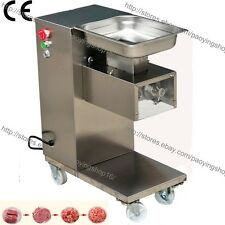 500kgh Ss 25 25mm Blade Electric Fresh Meat Cutter Slicer Processing Machine