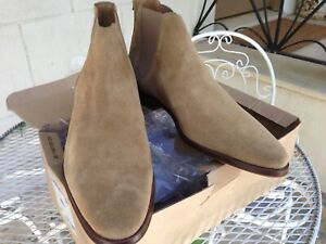 ZARA mens Suede ankle boots size 10 | eBay