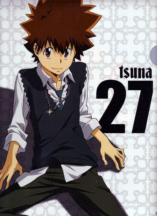 Katekyo Hitman Reborn Tsuna Anime Long Wallet For Sale Online Ebay