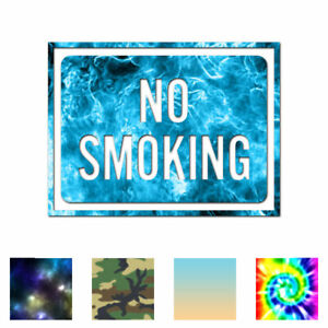 No-Smoking-Business-Sign-Decal-Sticker-Multiple-Patterns-amp-Sizes-ebn4009