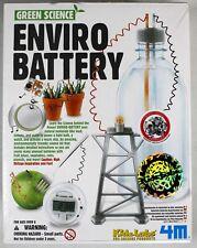 Enviro Battery by 4M Kidz Labs!