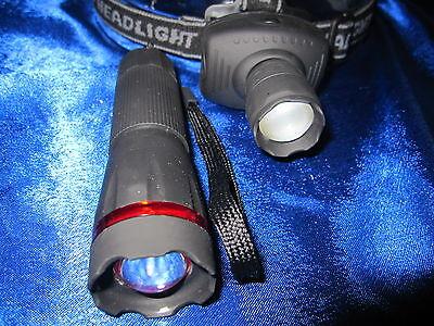Testa Zoom Lampada 170m Fascio + Focus Torcia 130m Cree Lampada Frontale- Comodo E Facile Da Indossare