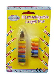 Interchangable-Crayon-6-colours-Younger-Girls-Party-Bags-Stocking-Fillers