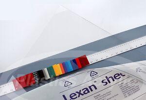 """Clear Polycarbonate Lexan Sheet .040"""" x 48"""" x 96"""""""