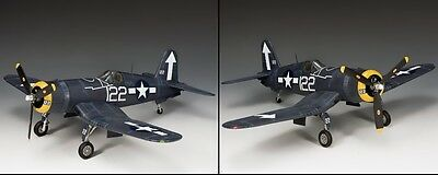 KING AND COUNTRY WW2 U.S. Navy F4U Corsair USN023 USN23