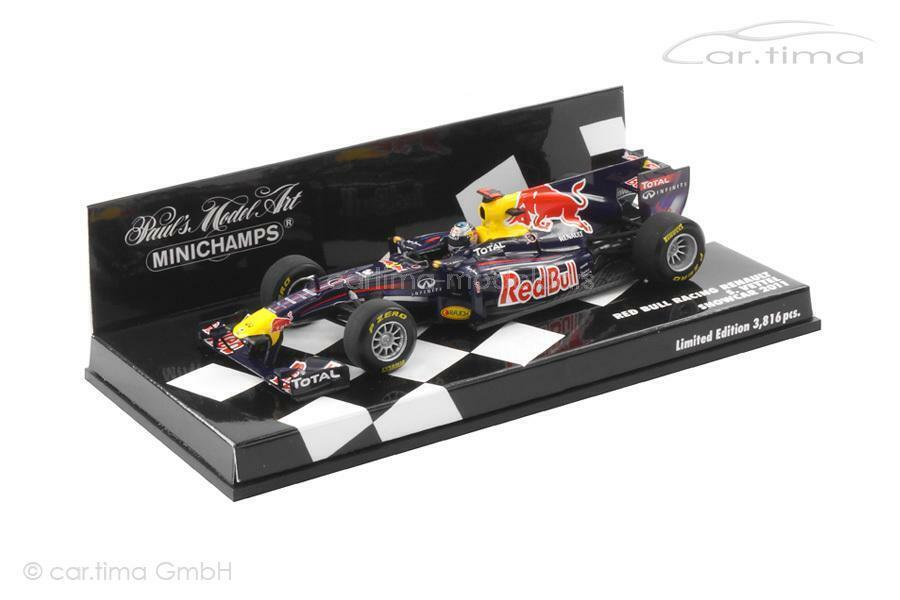 tienda de bajo costo rojo Bull Racing Renault-ShowCoche 2011-Sebastian bruja - 1 of 3.816 3.816 3.816 - minicha  100% garantía genuina de contador