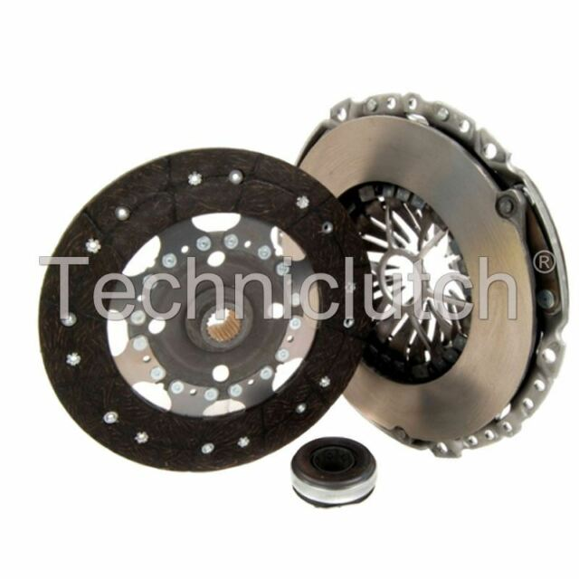 NATIONWIDE 3 PART CLUTCH KIT FOR PEUGEOT 807 MPV 2.0 HDI