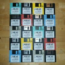 Akai MPC 2000 x20 Diskettes Drum Kit Sounds Samples Floppies Floppy