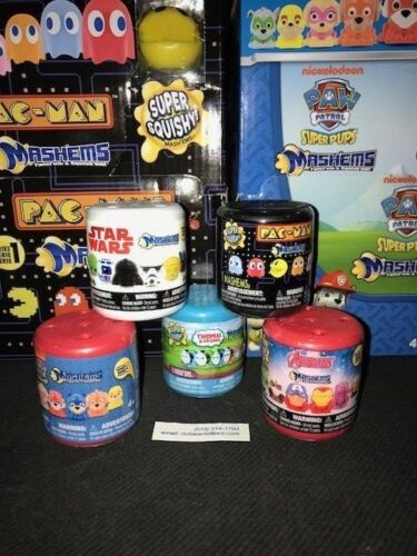 Thomas ! Pacman Mixed Lot-Mashems-Fashems-Star Wars 5x Paw Patrol Avengers