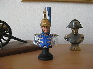 Buste D'un Trompette De Dragon L'impératrice 1810 200 Mm (1/10) Peint