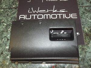 86-89 oem acura integra da1 sd2 interior lower dashboard fuse panel cover  black   ebay  ebay