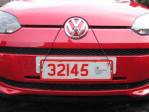 Image is loading TRADE-PLATE-HOLDERS-FOR-COVERING-NUMBER-PLATES-FRONT- & TRADE PLATE HOLDERS FOR COVERING NUMBER PLATES FRONT AND REAR WITH ...
