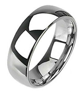 Delicate Tungsten Ring