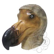 NEW ! Latex Animal Realistic Brown Dodo Bird Cosplay Fancy Dress Carnival Mask