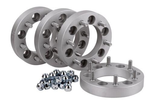60mm distancia cristales Wheel spacers pista placas Alu 4x Ensanchamiento
