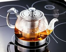 Judge Hob Top Hobtop Glass Teapot, Induction Safe, 900ml - TC331
