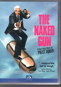 THE-NAKED-GUN-DVD-R4-2001-Leslie-Nielsen-LIKE-NEW-FREE-POST