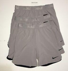 progresivo alcohol porcelana  Nike Pro Mens Flex Vent Max 2.0 Grey Shorts BNWT XL Running Gym Training |  eBay