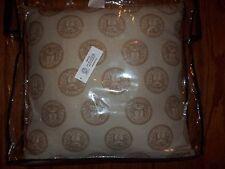 New Versace Home Beige/Khaki Decorative Pillow 19x19