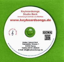 Midifiles KEYBOARDSONGS-MEGAPACK alle Ausgaben von 2018 (127-136)