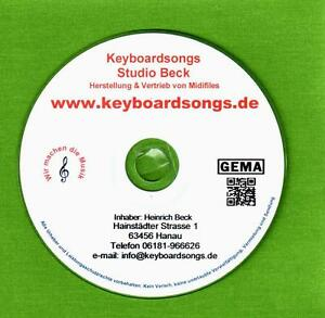 Midifiles KEYBOARDSONGS 129 - 123 DIE 7 NEUSTEN AUSGABEN auch für TYROS - Hanau, Deutschland - Midifiles KEYBOARDSONGS 129 - 123 DIE 7 NEUSTEN AUSGABEN auch für TYROS - Hanau, Deutschland
