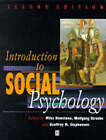Introduction to Social Psychology: A European Perspective by John Wiley and Sons Ltd (Paperback, 1995)