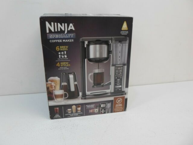 Ninja 10-Cup Specialty Coffee Maker - Black/Stainless ...