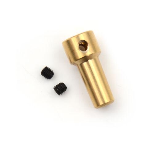 Brass 2.3mm Electric Drill Chuck JT0 Coupling Motor Shaft Coupler Clamp
