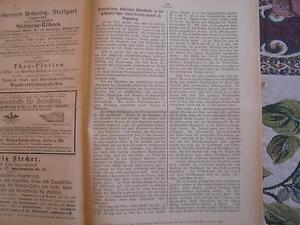 1894... Wurtemberg 3/nécrologie Sacré Stuttgart/fécale Usine Augsbourg-afficher Le Titre D'origine