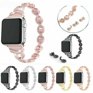 Stainless-Steel-Bracelet-Wrist-Band-Strap-for-Apple-Watch-Series-4-3-2-1-40-44mm