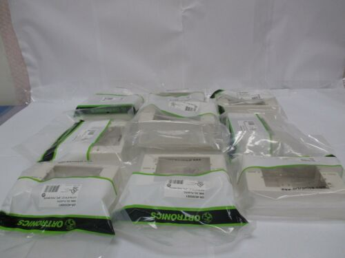 """LOT OF 10 Ortronics 40300061 Low Profile Surface Mount Wall Box 3/"""" x 4.5/"""" x 1.5/"""""""