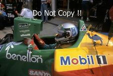 Alessandro Nannini Benetton B189 German Grand Prix 1989 Photograph 1