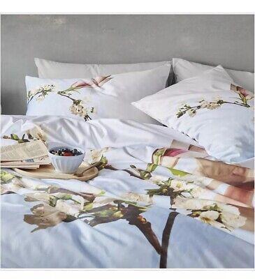 17355e33c Ted Baker Harmony Blue Full Queen Duvet Cover +2 Standard Pillowcases.  Gorgeous!
