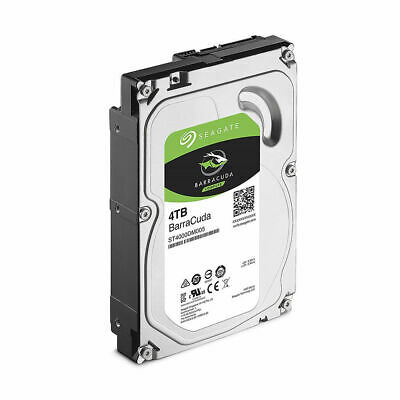 "Seagate BarraCuda ST4000DM004 4TB 256MB Cache SATA 6.0Gb//s 3.5/"" Hard Drives"