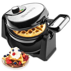 Savisto Electric 180° Rotary Waffle Maker Machine