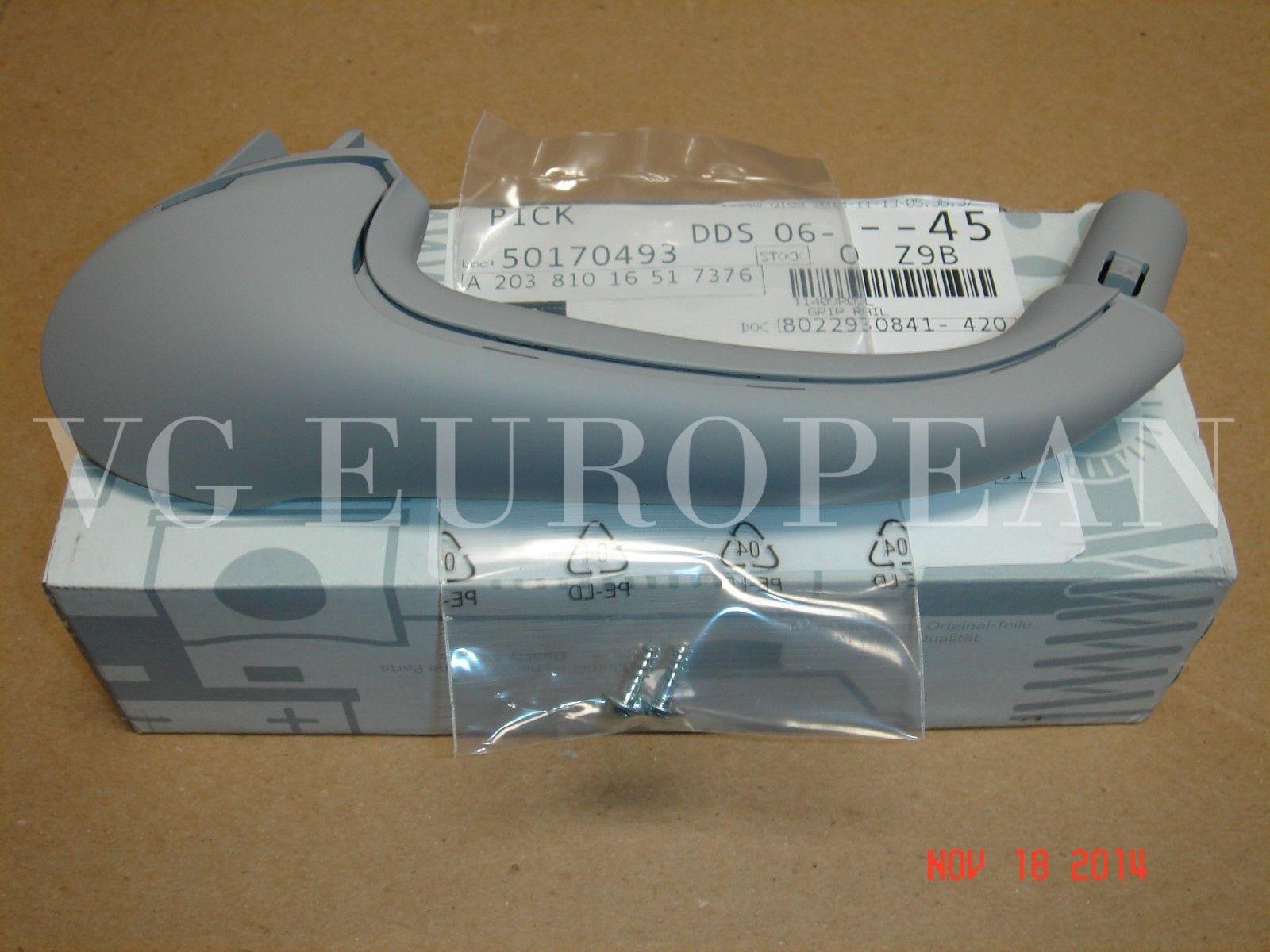 Inside Door Pull Handle Alpaca Gray Genuine For Mercedes 20381016517376