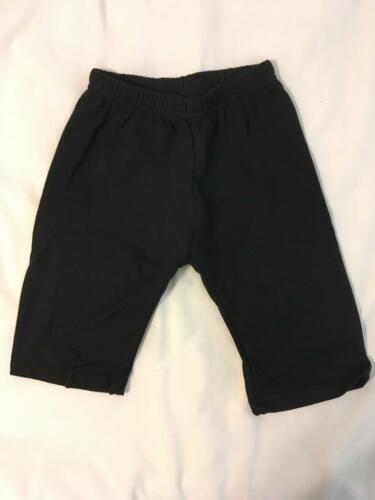 American Apparel Fleece Pants Sz. 18-24M Black Toddler Boy/girl (Combined Ship)