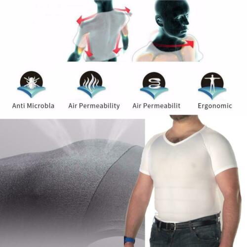 Classix Men Body Toning T-shirt The UltraDurable Body Compression Shapewear Top