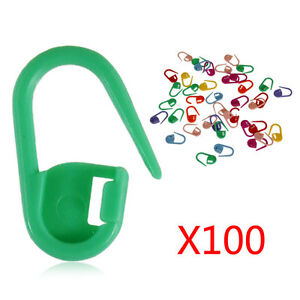 100Pcs-Knitting-Weave-Plastic-Crochet-Knitting-Needles-Clip-Markers-Hooks-Sewing