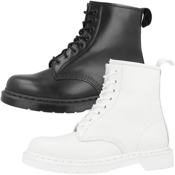 Dr Doc Martens 1460 Mono Stiefel 8-Loch Leder Stiefel Unisex Schuhe Stiefeletten